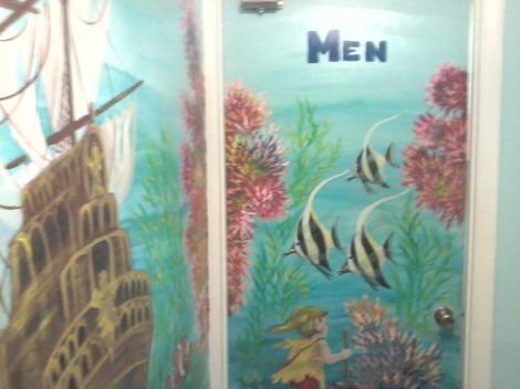 Artwork Men Restroom
