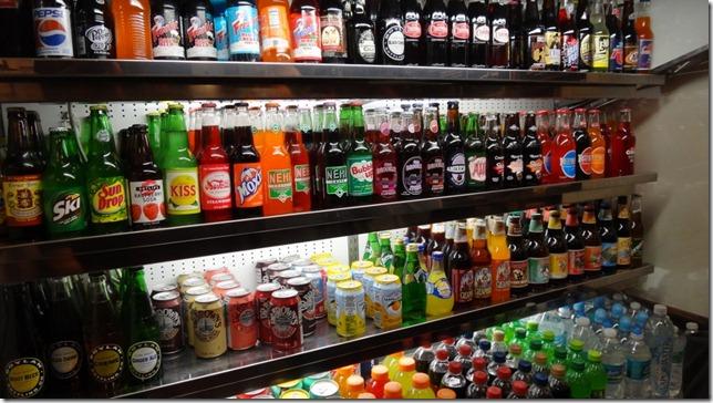 Assortment of Sodas