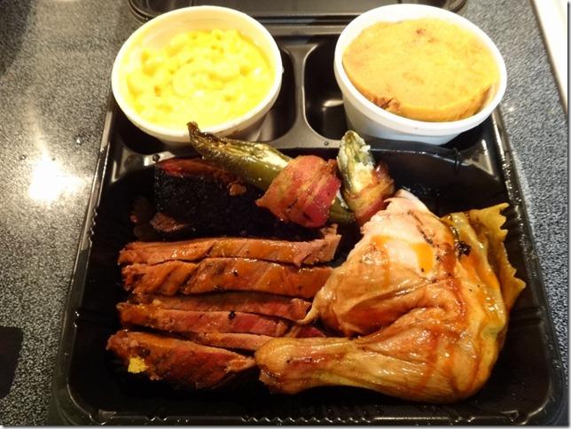 Brisket and Smoked chicken
