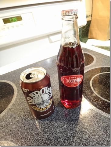 Cream and Cherry Soda