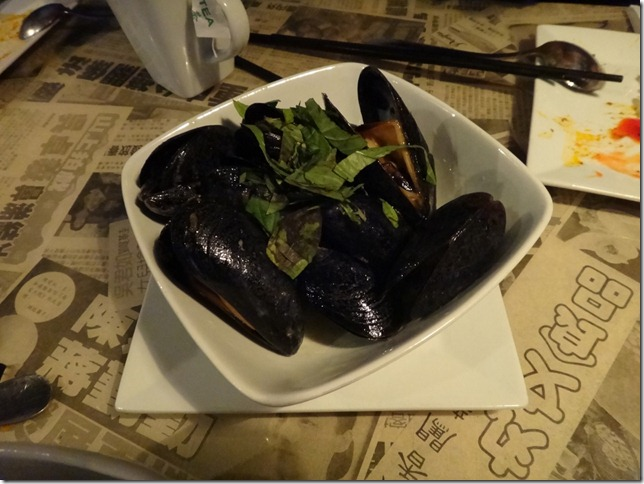 Hot Iron Mussels