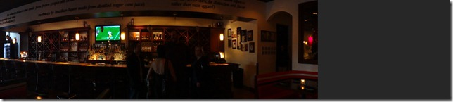 Panoramic View of the Bar