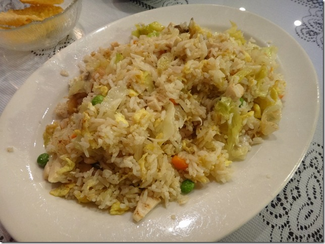Salty Fish and Chicken Fried Rice