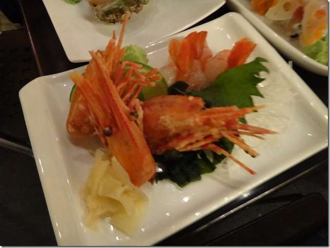 Sweet Shrimp Sashimi 1