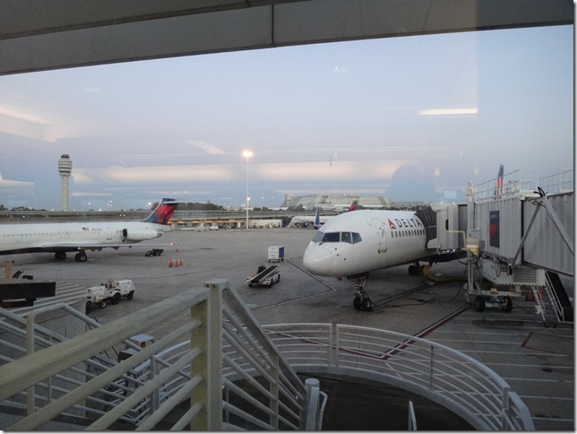 Delta Airlines MCO to LAX 1