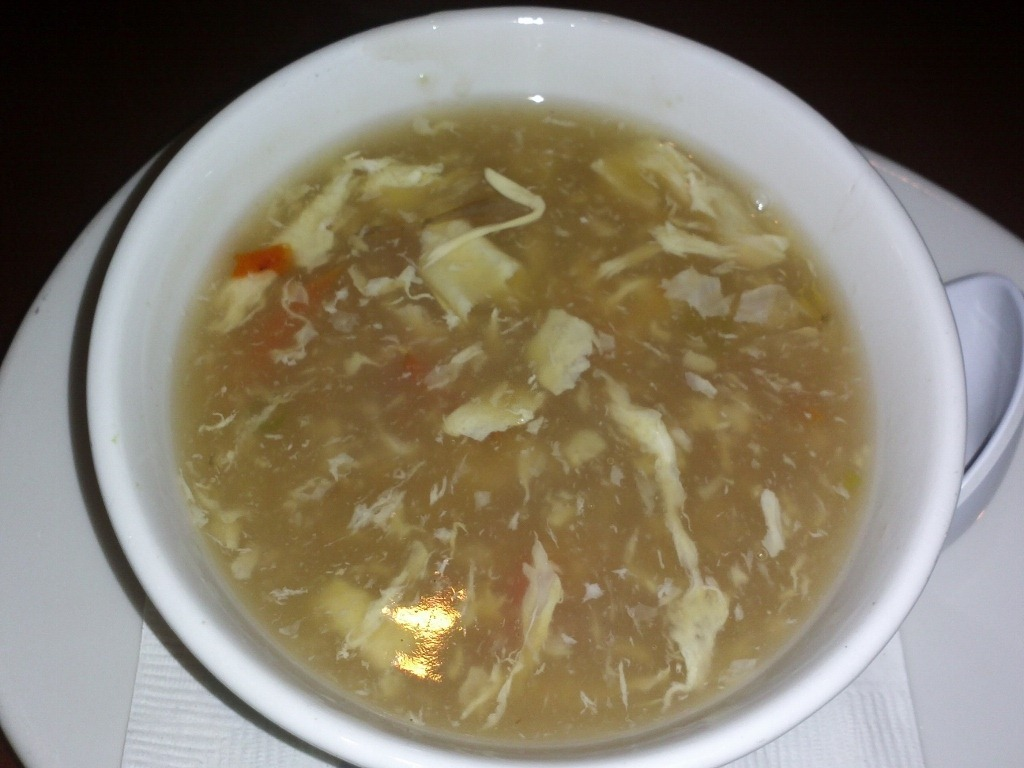 EGG DROP SOUP – Their version of this traditional soup with egg ...