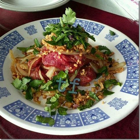 Beef Salad with Herbs