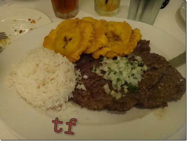 Cuban Stle Steak