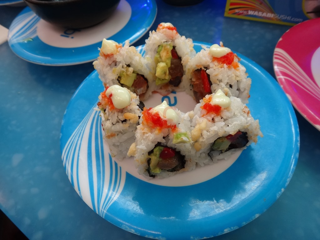 The Rolls Go Round And Round At Wasabi Modern Japanese