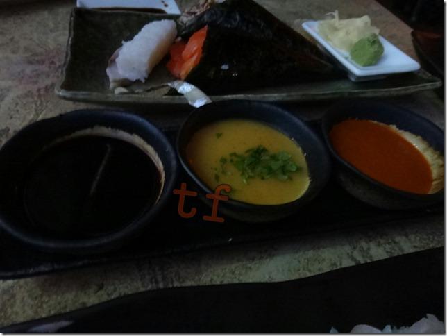 Trio of Robata Sauce