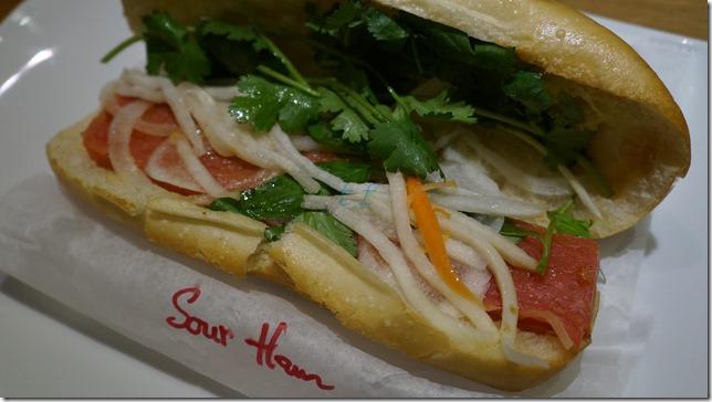 Sour Ham Sandwich