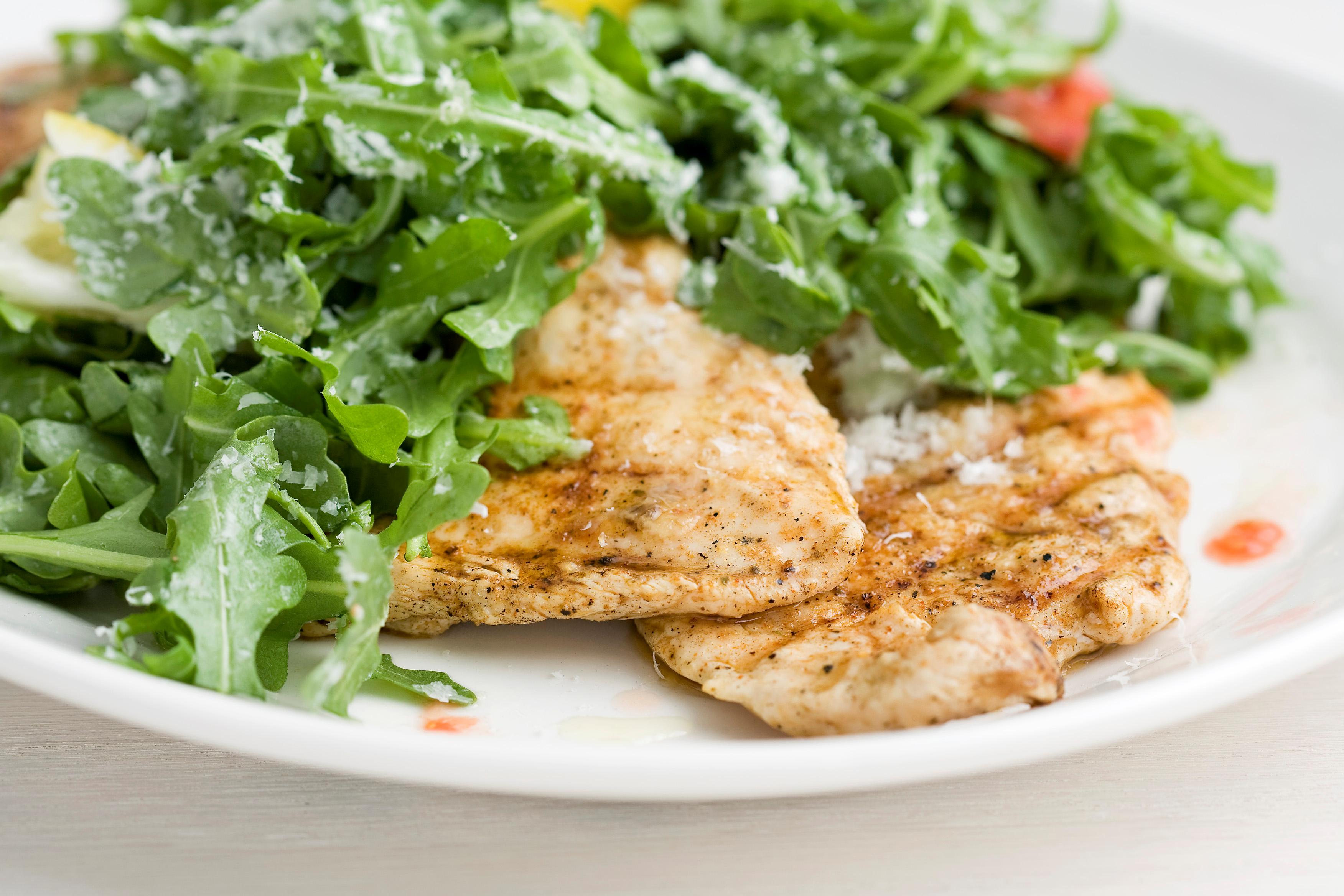 Chicken Paillards With Avocado And Pomegranate Salsa Recipes ...