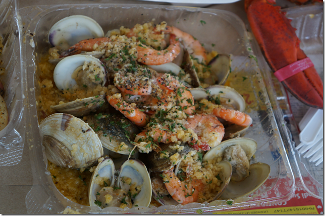 Garlic Shrimps and clams