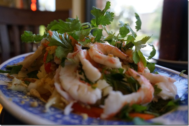 Gỏi Ngó Sen - Lotus rootlets with Shrimp and Pork sour salad