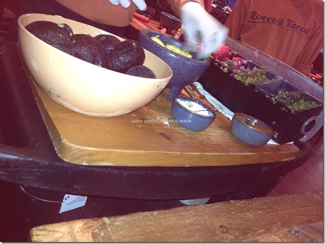 Guacamole Tableside Preparation