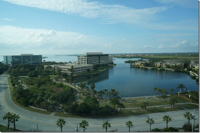 View towards Clearwater