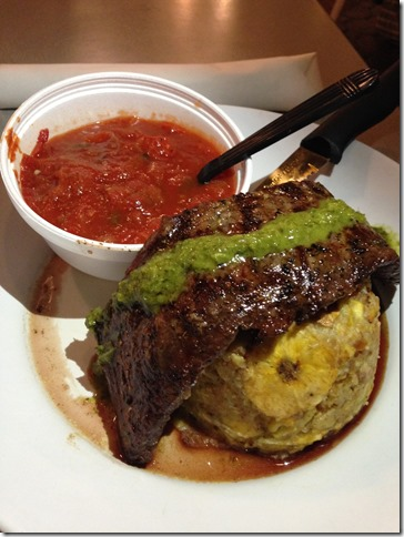 Mofongo with Churassco