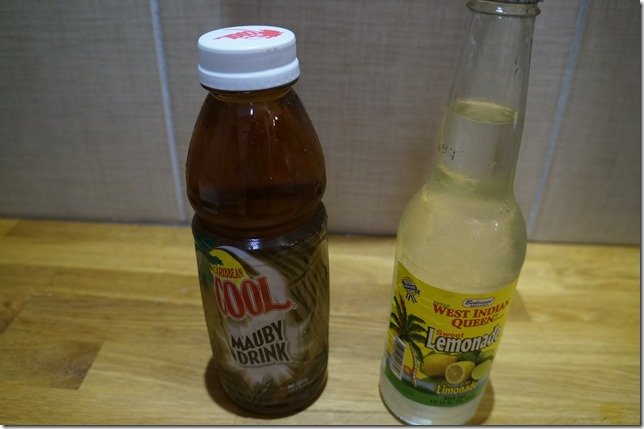 Mauby and Lemonade Drink