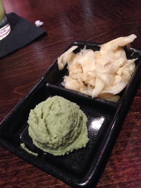 Wasabi and Ginger